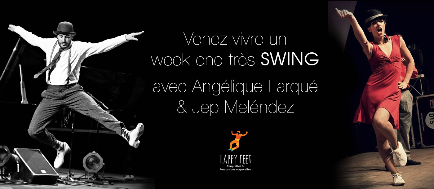 NDDL - 25-26/3/2017 - Stage Claquettes, Swing & Percussions